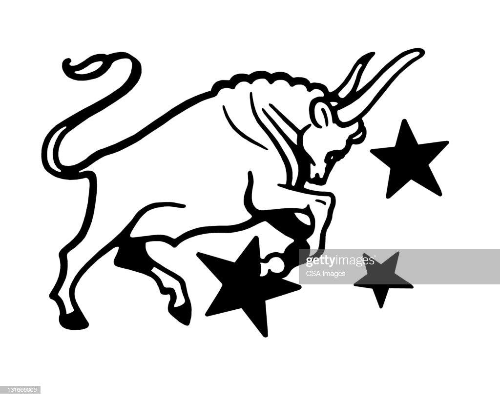 Taurus Zodiac Symbol Stock Illustration Getty Images