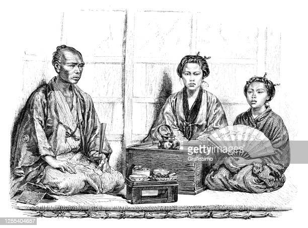 茶道 日本 1876 - 日本建築点のイラスト素材/クリップアート素材/マンガ素材/アイコン素材