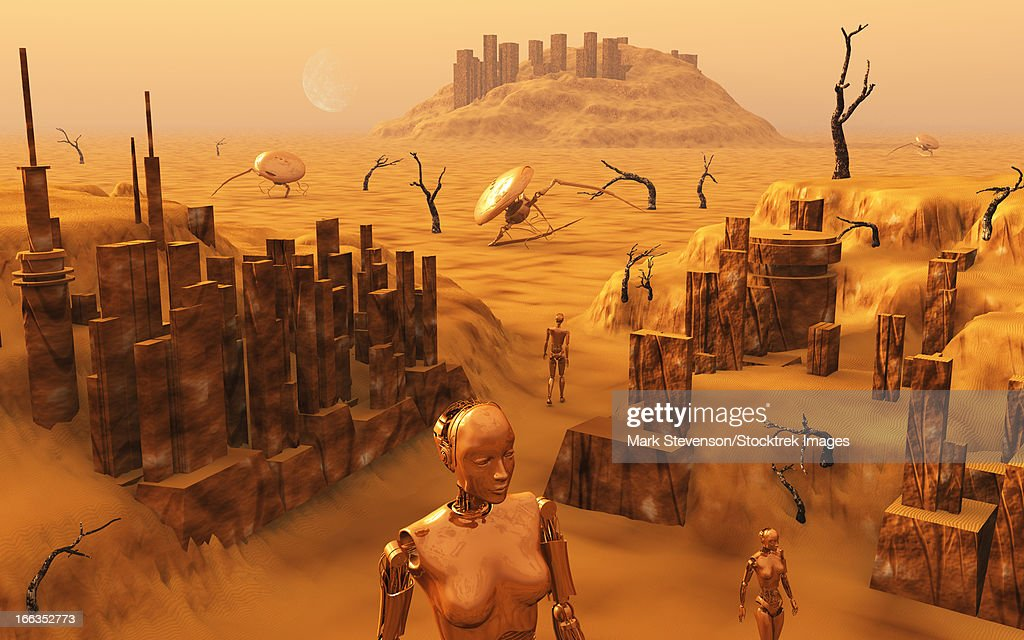 """The ancient ruins on Mars compared to the African """"metropolis ..."""