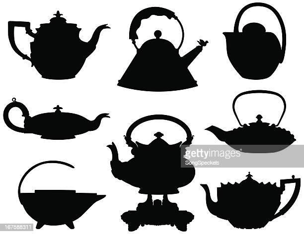 Silhuetas Teapots