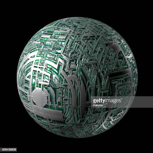 Tech Planet, design element