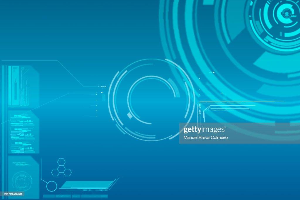 Technological background : stock illustration