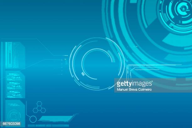 technological background - technology stock illustrations