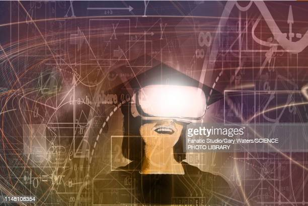 technology in education, conceptual illustration - paperwork stock illustrations
