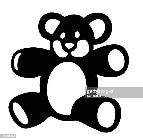 teddy bear - toy stock illustrations