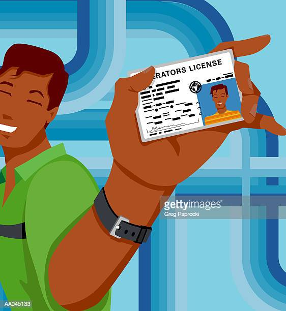 Driver S License Stock Illustrations And Cartoons Getty