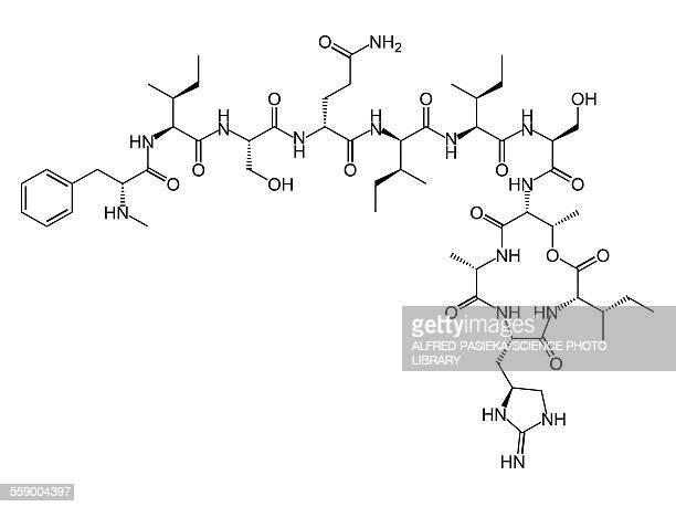 Teixobactin antibiotic structure formulae