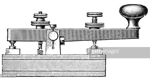 ilustrações, clipart, desenhos animados e ícones de telegraph - telegrama