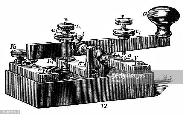テレグラフ』紙 - 電報点のイラスト素材/クリップアート素材/マンガ素材/アイコン素材