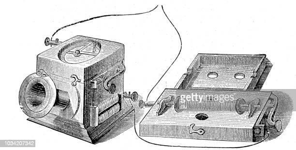 telefon in seine erste vorkommen - first occurrence stock-grafiken, -clipart, -cartoons und -symbole