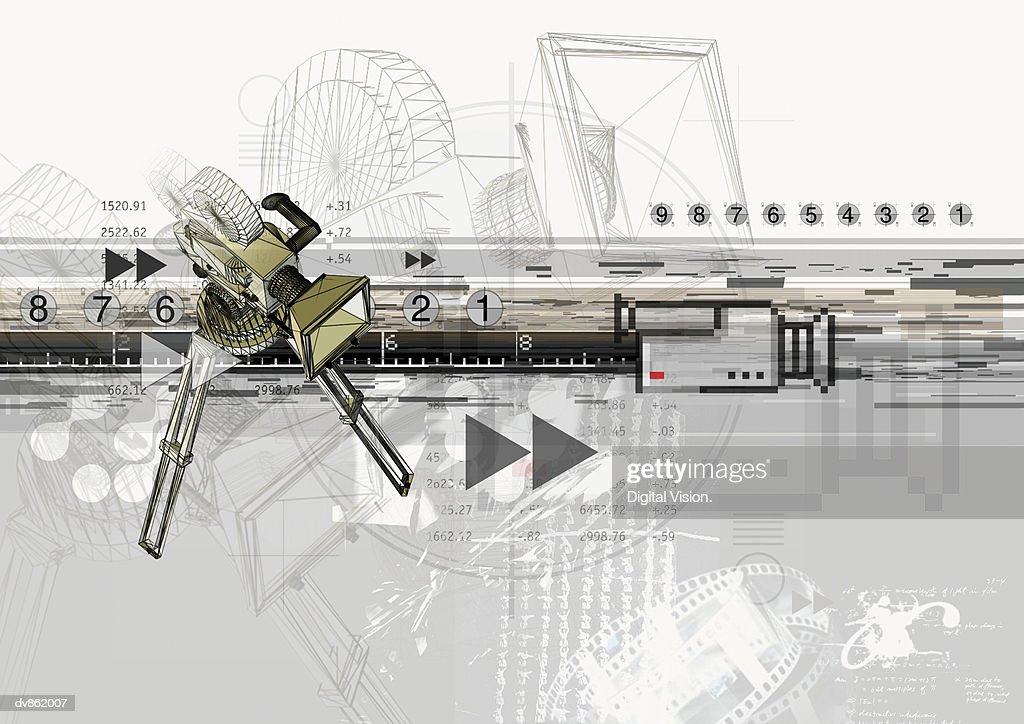 Television Camera : stock illustration