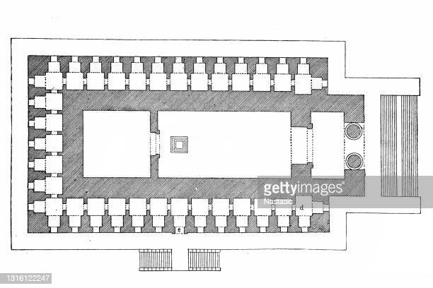 ソロモン神殿 - 聖約の箱点のイラスト素材/クリップアート素材/マンガ素材/アイコン素材