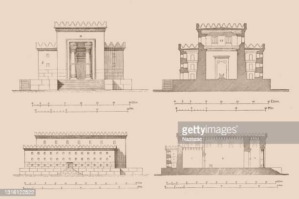 ソロモン神殿再建 - 聖約の箱点のイラスト素材/クリップアート素材/マンガ素材/アイコン素材