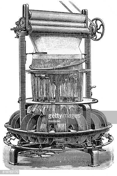 Textile/tapestry machine