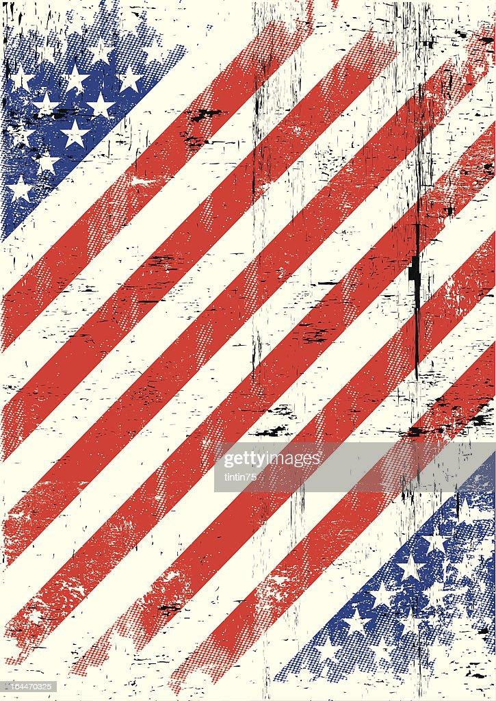 USA texture background