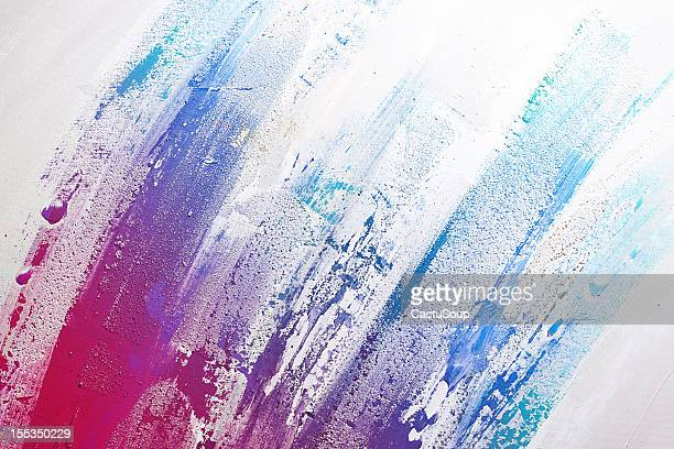 textured abstract paint - colour image stock illustrations, clip art, cartoons, & icons