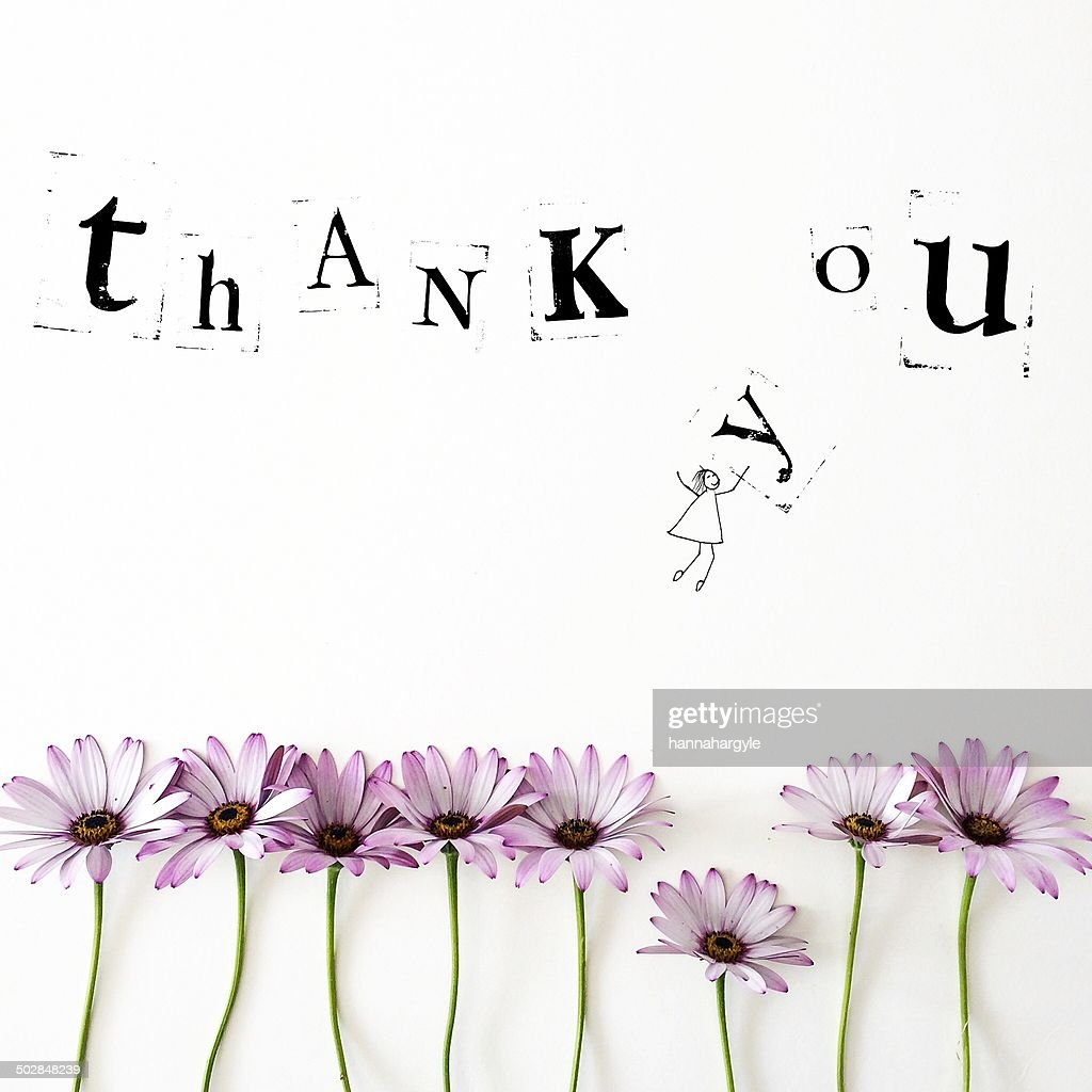Thank you message : Stock Illustration