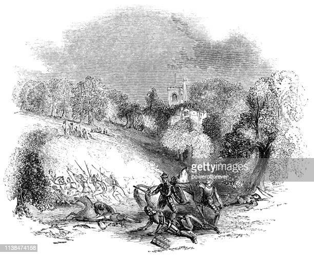 The Battle of Barnet during the War of the Roses - 15th Century