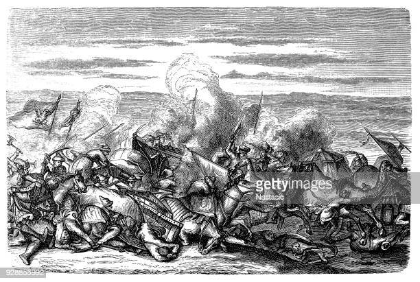 The Battle of Khotyn or Battle of Chocim or Hotin War