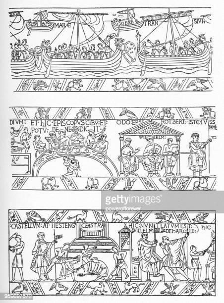 El tapiz de Bayeux - siglo XI