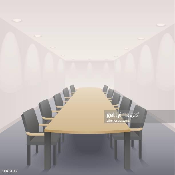 the boardroom - board room stock illustrations