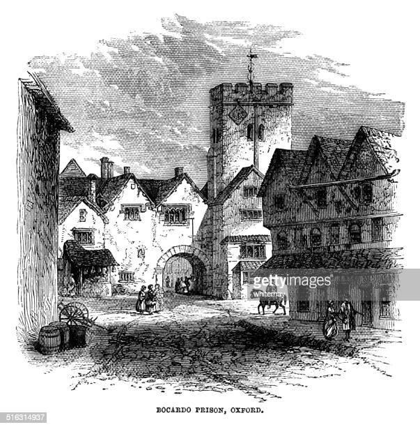 The Bocardo Prison in Oxford, England