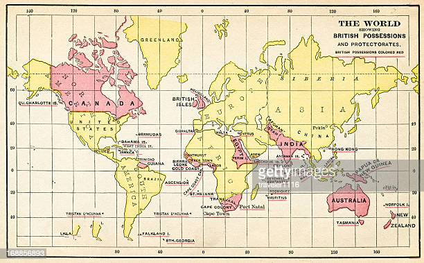 the british empire from 1883 - british empire stock illustrations
