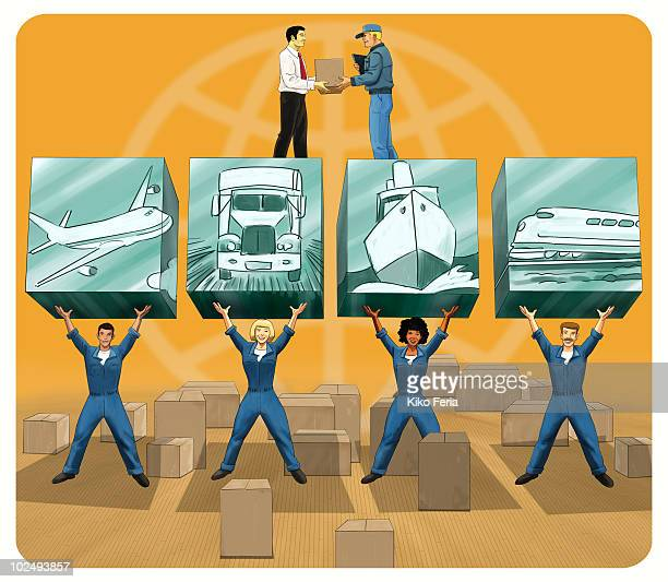 The building blocks of the transport industry