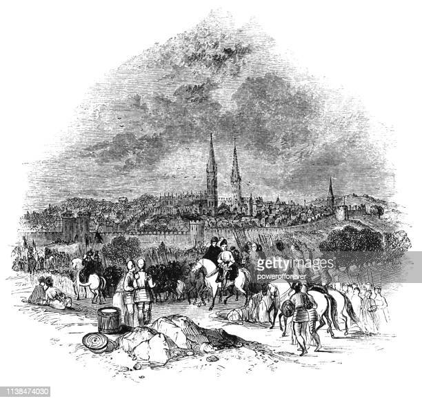 The City of Coventry in West Midlands, England - 15th Century