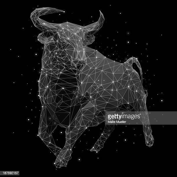 The constellation of Taurus