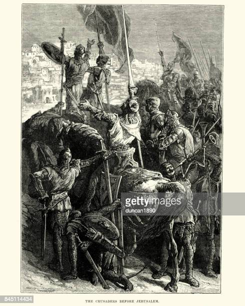 Los cruzados antes de Jerusalén, primera cruzada