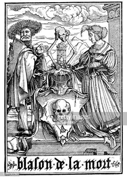 the dance of death - tarot cards stock illustrations, clip art, cartoons, & icons