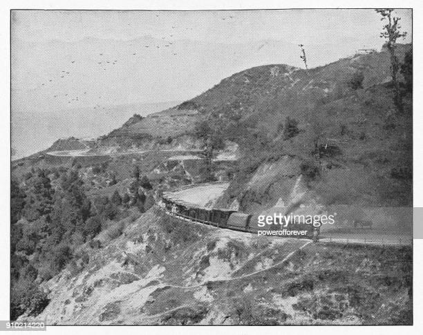 The Darjeeling Himalayan Railway in India, India - British Era
