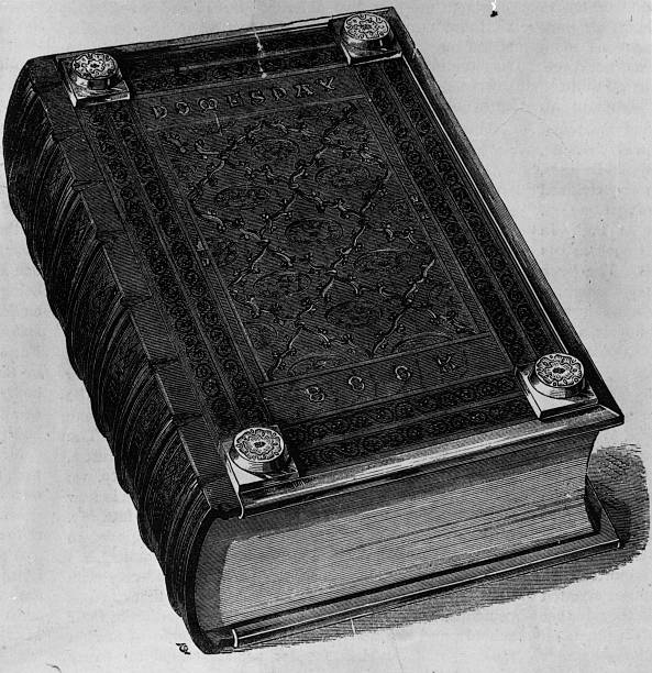 The Domesday book written as a report of a survey of...