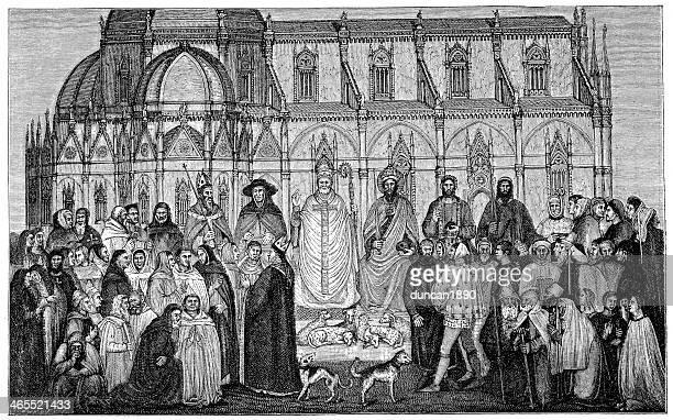 La jerarquía eclesiásticas