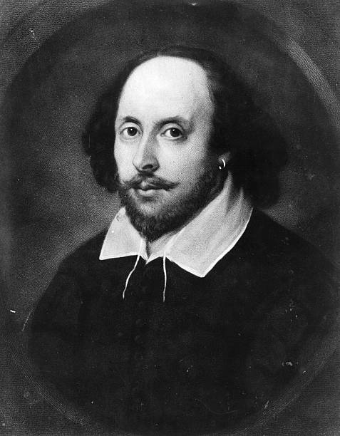 The English poet and dramatist, William Shakespeare...