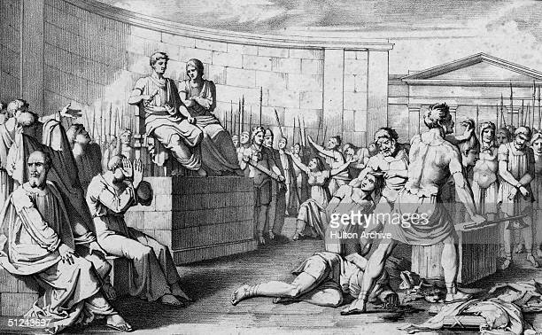 509 BC The execution of the Roman hero and consul who established the Republican government at Rome Lucius Junius Brutus