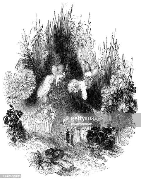 The Fairies in the Forest - Works of William Shakespeare