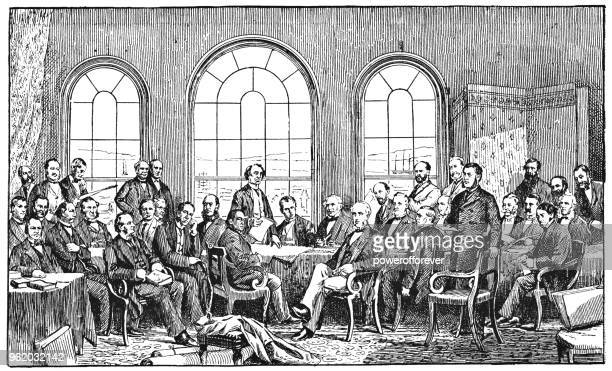 The Fathers of Confederation, Canada - 19th Century