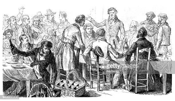 The February Revolution ,Reform banquet