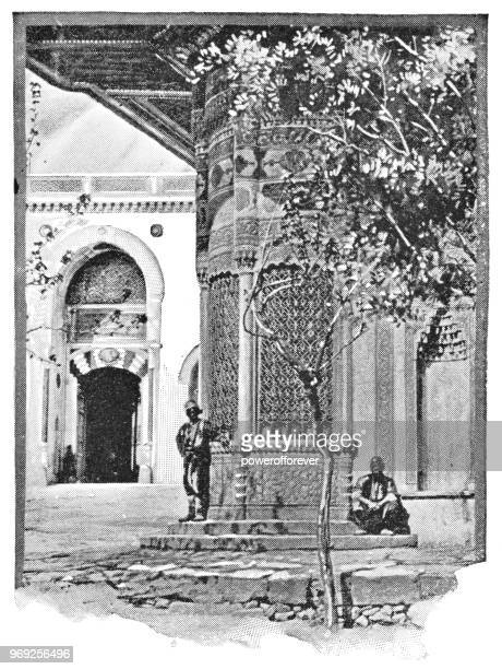 The Fountain of Sultan Ahmed III in Istanbul, Turkey - Ottoman Empire