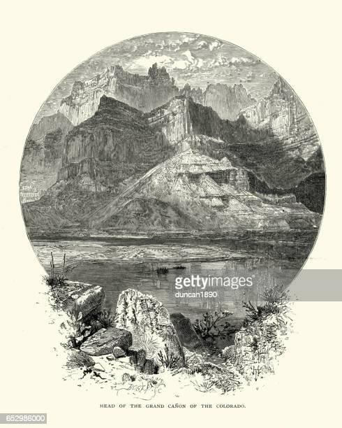 The Grand Canon, Colorado in the 19th Century