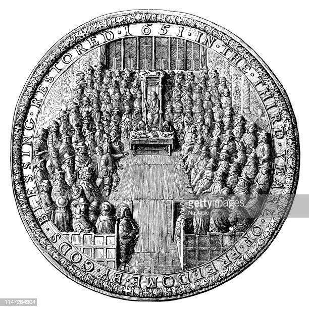 The Great Seal of England (Cromwell's Time)