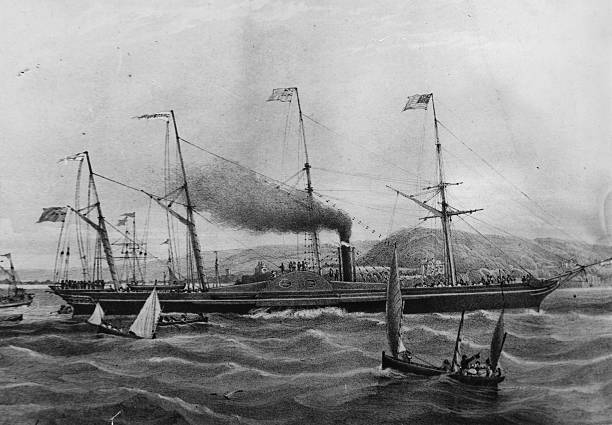 The Great Western Steamship, designed by Isambard Kingdom...