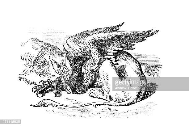 the griffon - griffin stock illustrations, clip art, cartoons, & icons