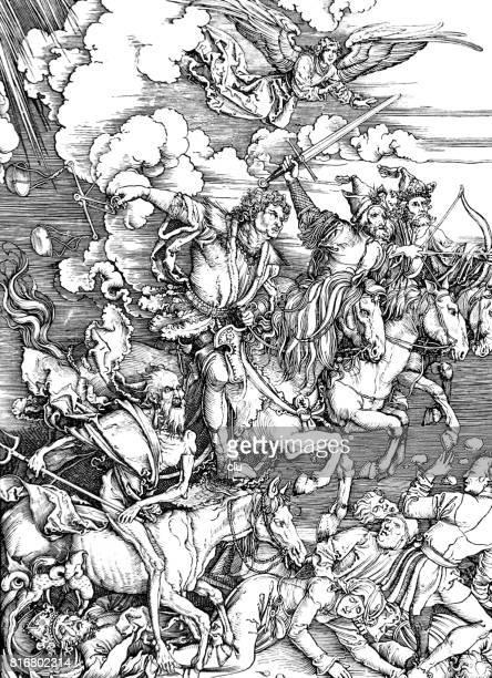 The Horsemen of the Apocalypse, 15th century