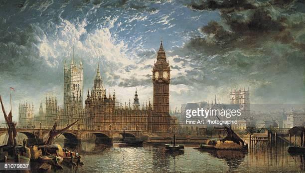 the houses of parliament - 1870~1879年点のイラスト素材/クリップアート素材/マンガ素材/アイコン素材