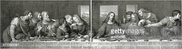 The Last Supper, Engraving in two Plates
