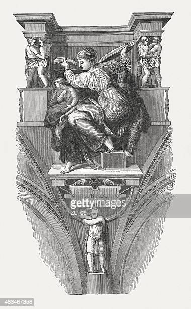 The Libyan Sibyl (Sistine Chapel, Vatican), published in 1878