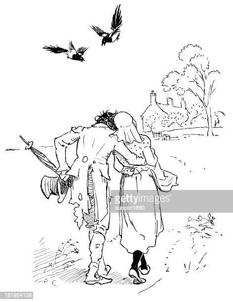 illustrations, cliparts, dessins animés et icônes de l'homme tout effiloché et déchiré - vagabond